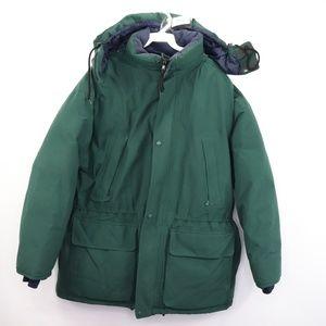 Eddie Bauer Mens Medium Down Filled Goretex Jacket